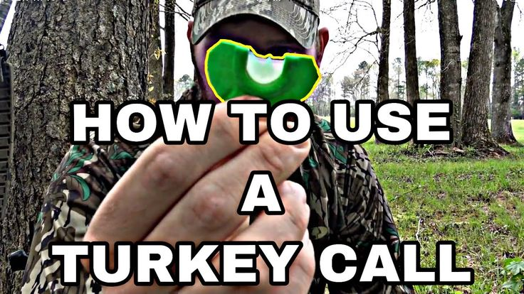 How to use a turkey mouth call youtube mouth being