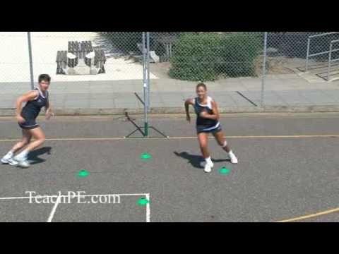 Netball Drill - Shooting - Free for Ball - The Circle Rotation