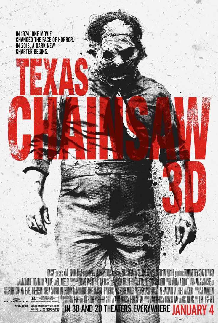 Texas Chainsaw 3D opens on January 4th. Buy tickets at www.studiomoviegrill.com.