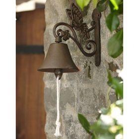 House2Home Antik Döküm Koleksiyon - Kelebek Kapı Çanı