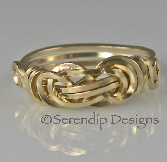 Best 25 Gold knot ring ideas on Pinterest