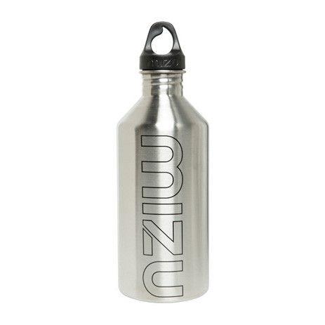 Mizu M12 Water Bottle — Stainless/Black - Products - Boardworld