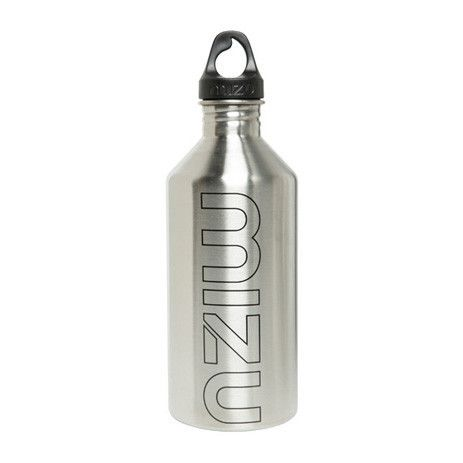 Mizu M12 Water Bottle — Stainless/Black - Products - Boardworld
