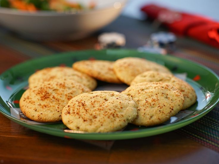 Sweet and Savory Cornbread Cookies recipe from Valerie Bertinelli via Food Network