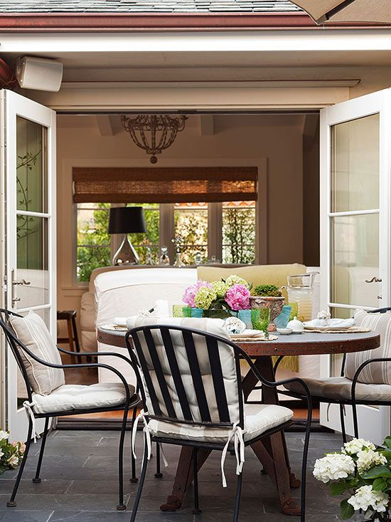 Comfortable and attractive furniture makes a huge difference in how much you enjoy your outdoor living experience.