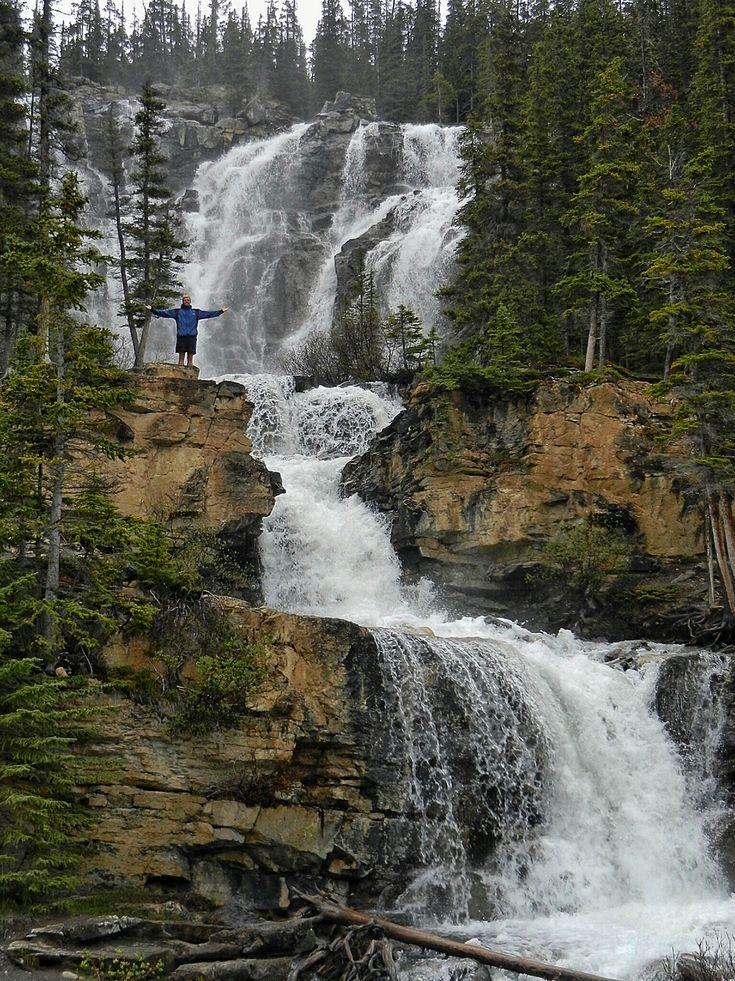 Tangle Creek Falls, Jasper National Park - Alberta Canada