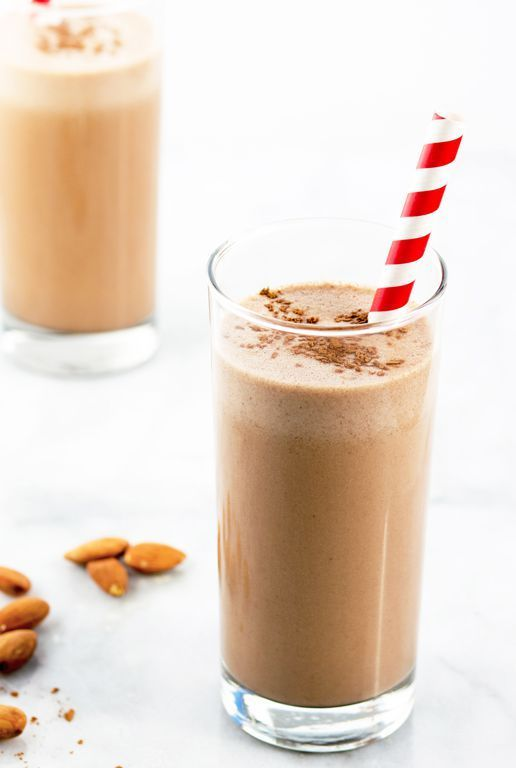 Chocolate-Almond Smoothie - FMD phase 3 snack or part of breakfast