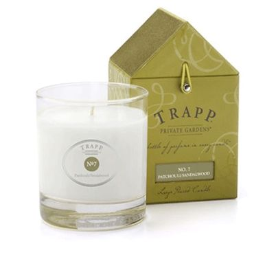 Trapp Candles No. 7 Patchouli Sandalwood Candle   #giftsforthespalover #giftsforthespaloverbathandbody #giftsforthespalovernaturalproducts #giftsforthespaloverlavender #lavenderfields