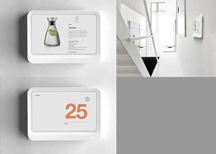 Home Pad   Saving U0026 Managing Energy. ID By Cloudandco 2010 · Ui DesignIndustrialEditorial  LayoutProduct ...