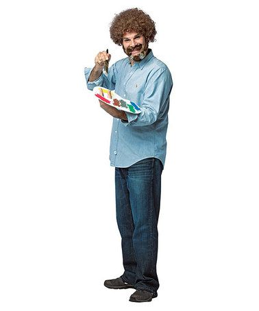 Another great find on #zulily! Bob Ross Costume Set #zulilyfinds
