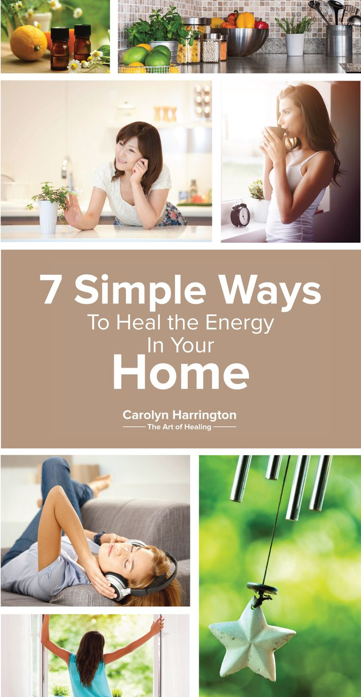 Having a healthy home is important to achieve optimal health. Energy in a healthy home promotes #healing and rejuvenation. Here are 7 steps to a healthier, healing home.