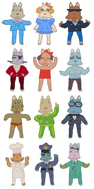 Razmig Mavlian:   HAPPY ACTION THEATER Cat characters I designed f...