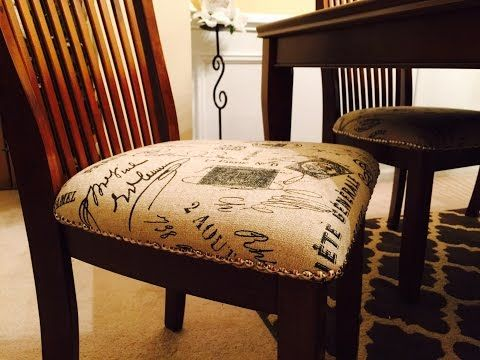 How To Reupholster A Bar Stool With A Built In Seat