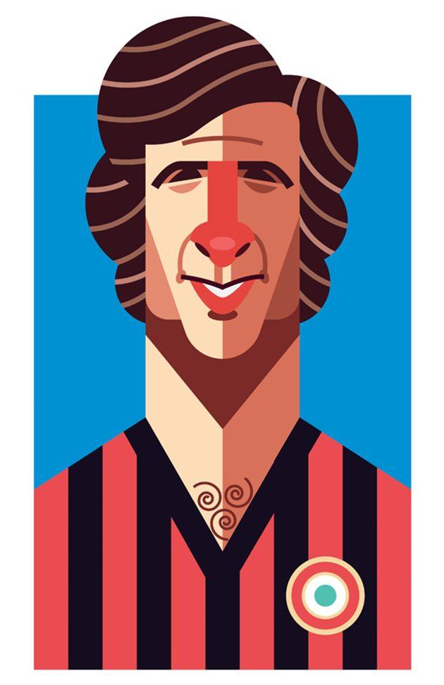 Gianni Rivera - A.C. Milan