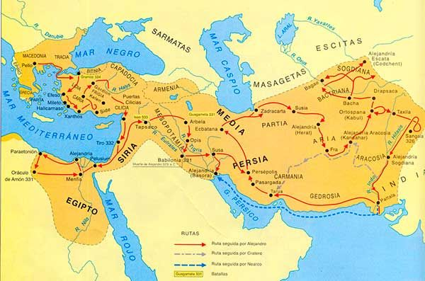 El imperio de Alejandro Magno