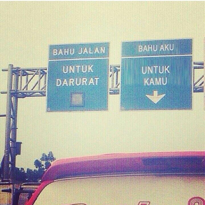 Bahu ku dan bahu jalan...hahahaa LoL!!
