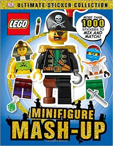 Ultimate sticker collection lego minifigure mash up ultimate sticker
