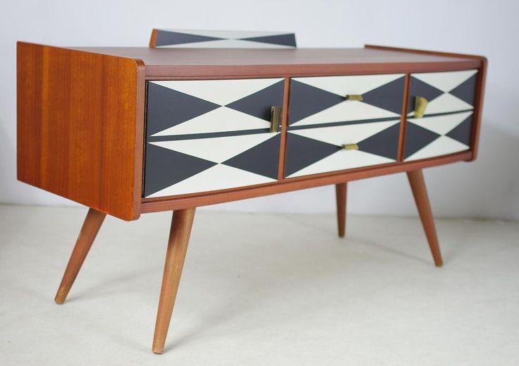 Komoda retro, vintage design, lata 60-te