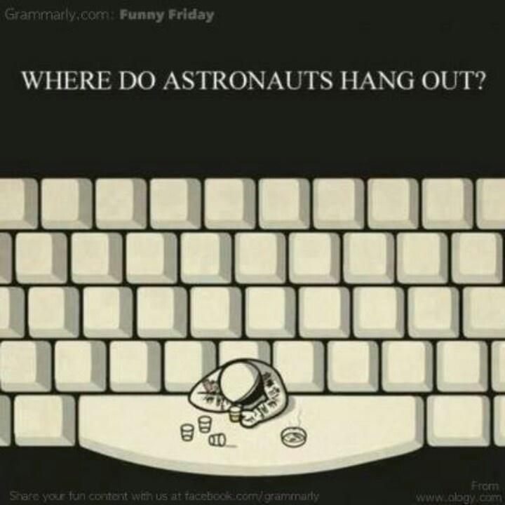 Astronaut bar...