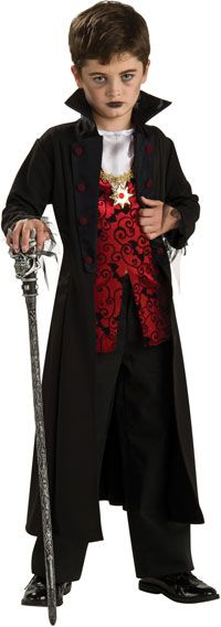 Royal Vampire Kids Costume - Halloween Costumes for my Gavin!