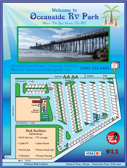 Oceanside Rv Park Near Carlsbad Rv Places Pinterest