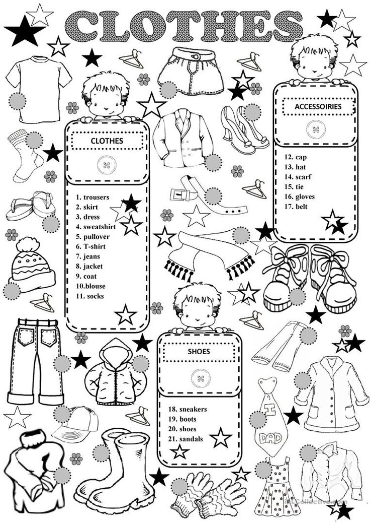 Free Worksheets free printable worksheets uk : The 25+ best Clothes worksheet ideas on Pinterest ...