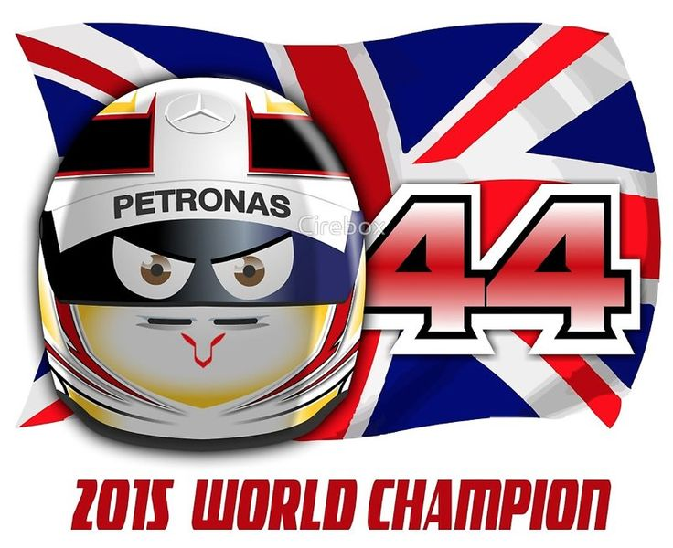 Looks like @LewisHamilton 's got his 3rd #F1 World Champ Title. Congrats! Let's celebrate  http://www.redbubble.com/people/cirebox/works/17115230-lewis-hamilton-2015-world-champion-helmet?c=366456-2015-f1-helmet-collection …
