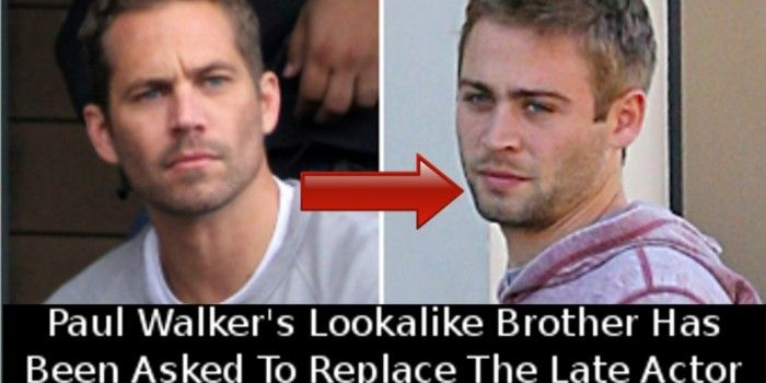 Paul Walker's Brother,Cody Walker , Will Complete His Role ...