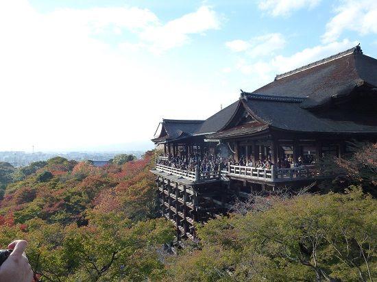 Kiyomizudera, Kyoto at fall.