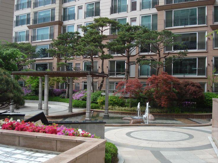 친환경 트렌드로 향하는 아파트 조경 디자인 출사기 :: 한화63 ...