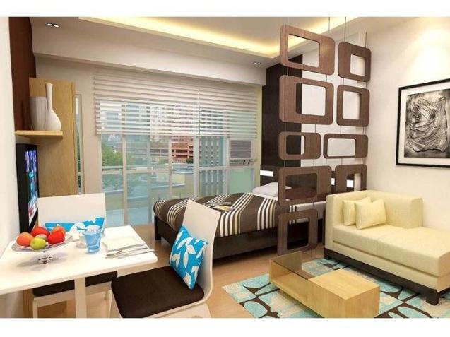 Best Studio Unit Condo Interior Design Small Apartment 400 x 300