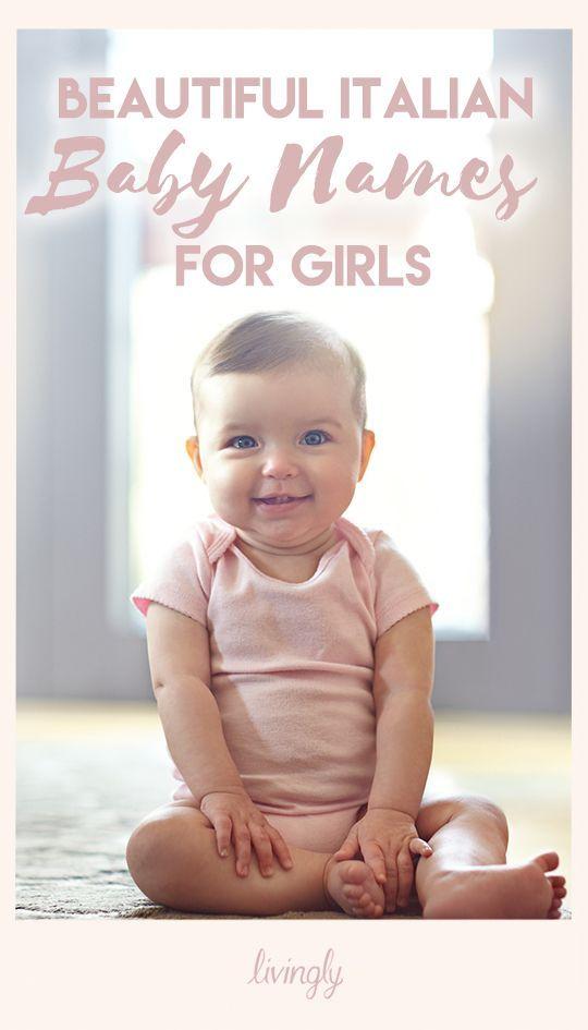 Beautiful Italian baby girl names.
