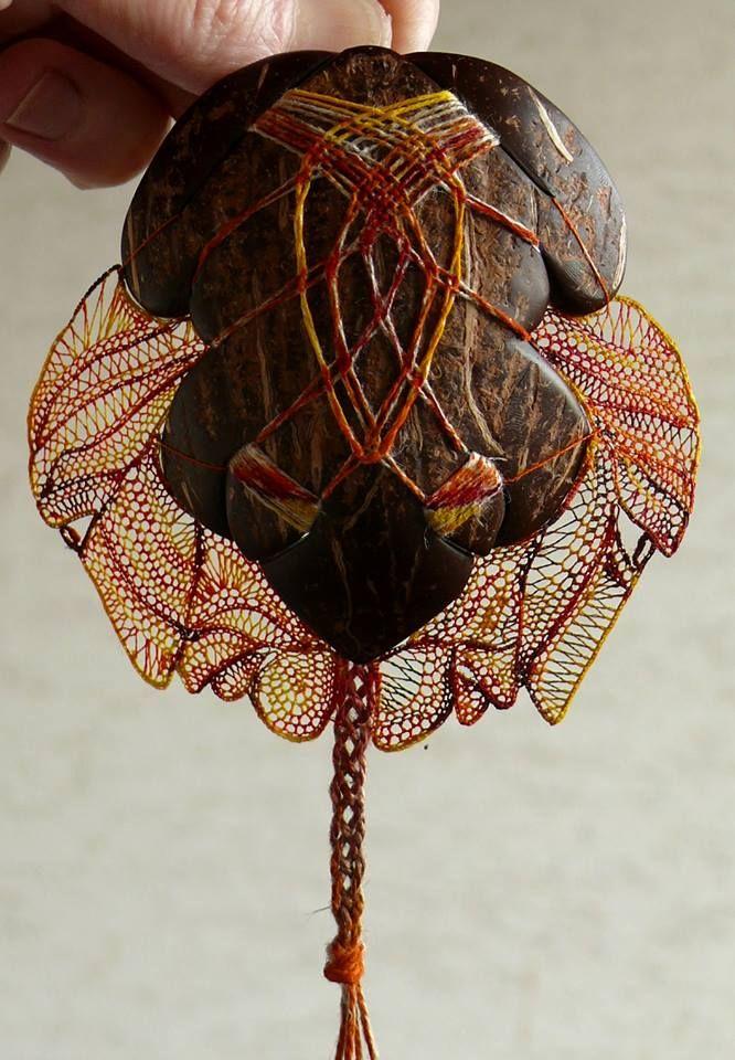 Волшебные инсталляции из нитей от Агнес Герцлед - Ярмарка Мастеров - ручная работа, handmade