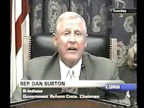 """""""I want you to give me a yes or no. Can you tell me, can you say right now, just flat out, just say it. Can you tell me without any doubt what-so-ever that the mercury in vaccines does not cause neurological problems or Autism? ~Congressman Dan Burton 2002 *Time Stamp*5:32  """"We can neither accept or reject a casual relationship."""" ~Dr Karen Midthun, FDA, Office of Vaccines Research & Review"""