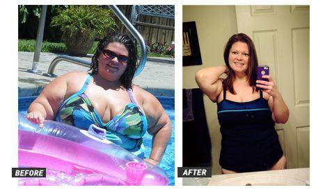 Rebecca has lost 170 pounds!