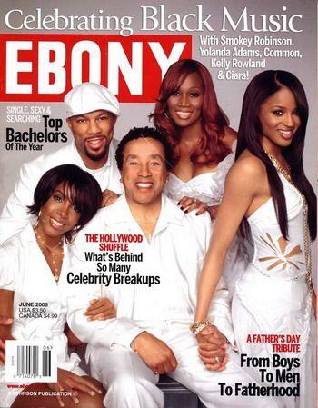Smokey Robinson - Ebony Magazine [United States] (June 2006)