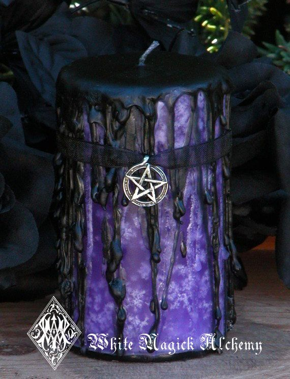 Queen of the Witches . Hekate Magick Candle by WhiteMagickAlchemy