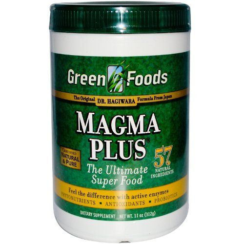 Green Foods Corporation Magma Plus 11 Oz by Green Foods. $32.63. MAGMA PLUS by Green Foods 11 Ounces