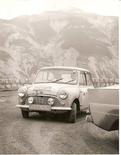 1960 Monte Carlo Rally Tommy Wisdom / Jack Hay