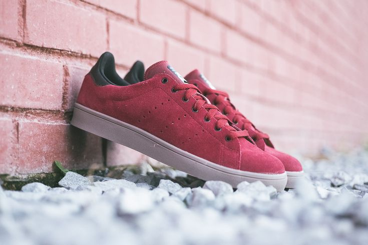 "adidas Skateboarding Stan Smith Vulc ""Burgundy"""