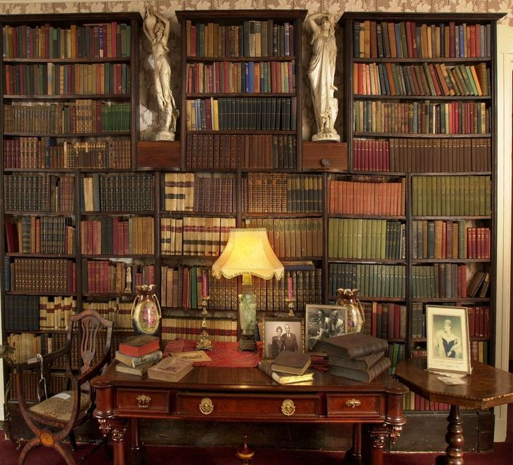 The Library of the Knott House