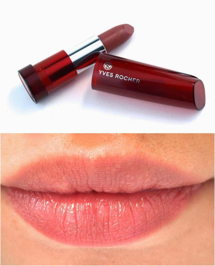 Yves Rocher Sheer Botanical Lipsticks swatches