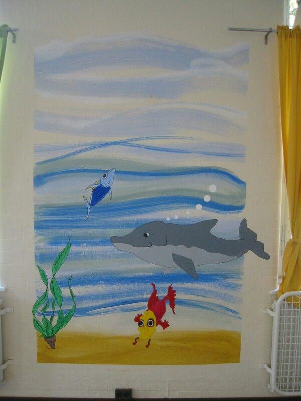 Schulprojekt Wandmalerei