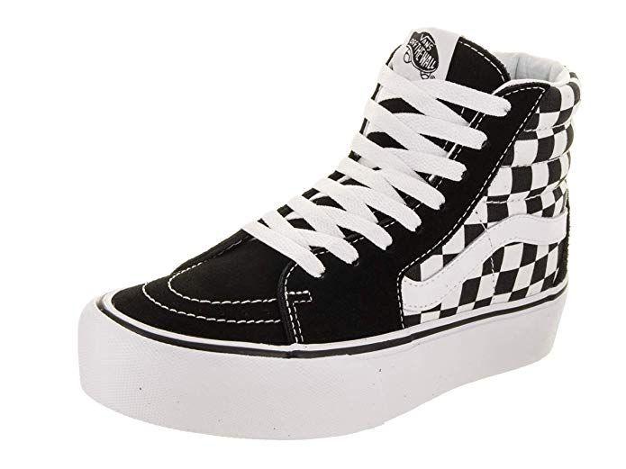 Modisch Damen Vans Authentic Sneaker schwarzweiß