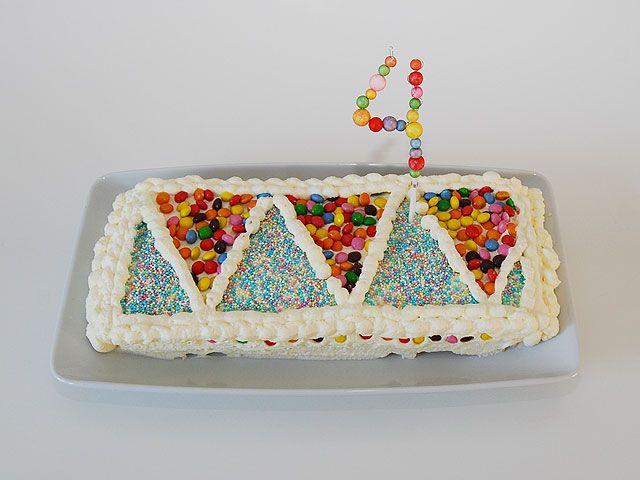 DIY- Confetti kakkukoriste - Humua -kaikkien juhlien ideapankki
