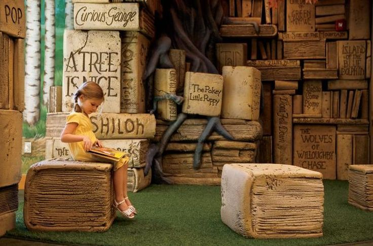 Brentwood, TN's Public Library has one of the leading children's areas in America. Find more on Brentwood's Kid-Friendly library...