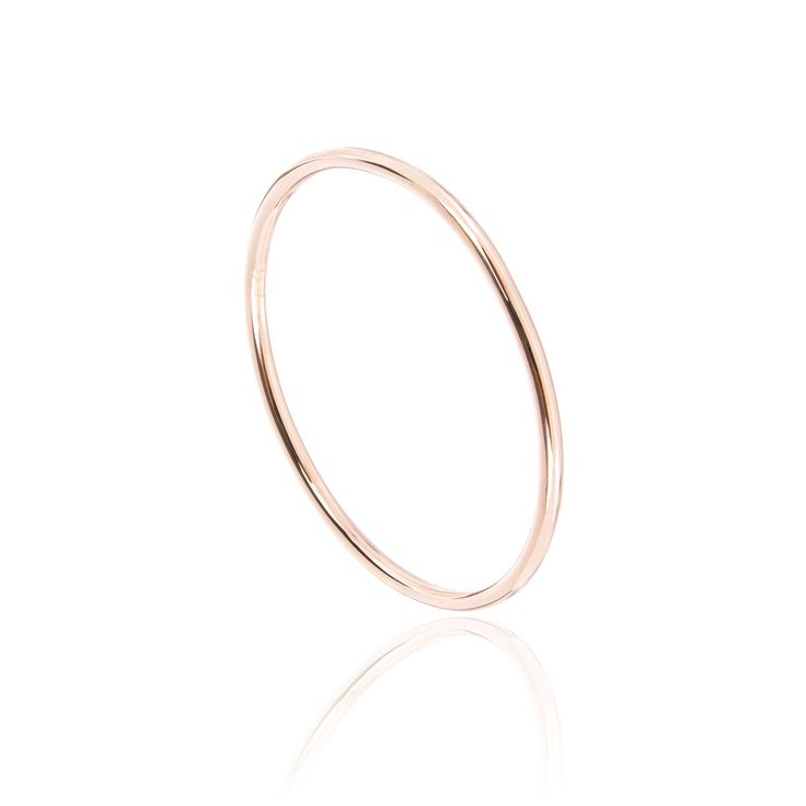 ANNA Ring PURE in 18 KT Roségold