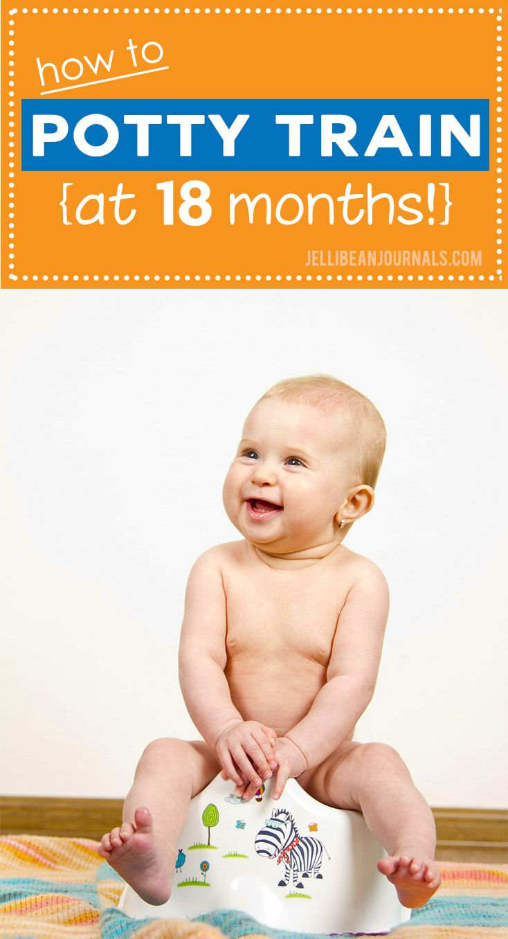 Early potty training routine that anyone can handle! Get your baby out of diapers early following these simple steps that you can tweak to fit your situation. | Jellibeanjournals.com