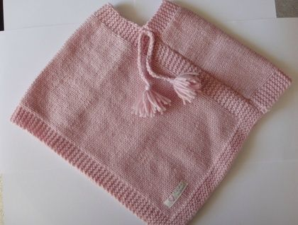 Baby Pink Poncho
