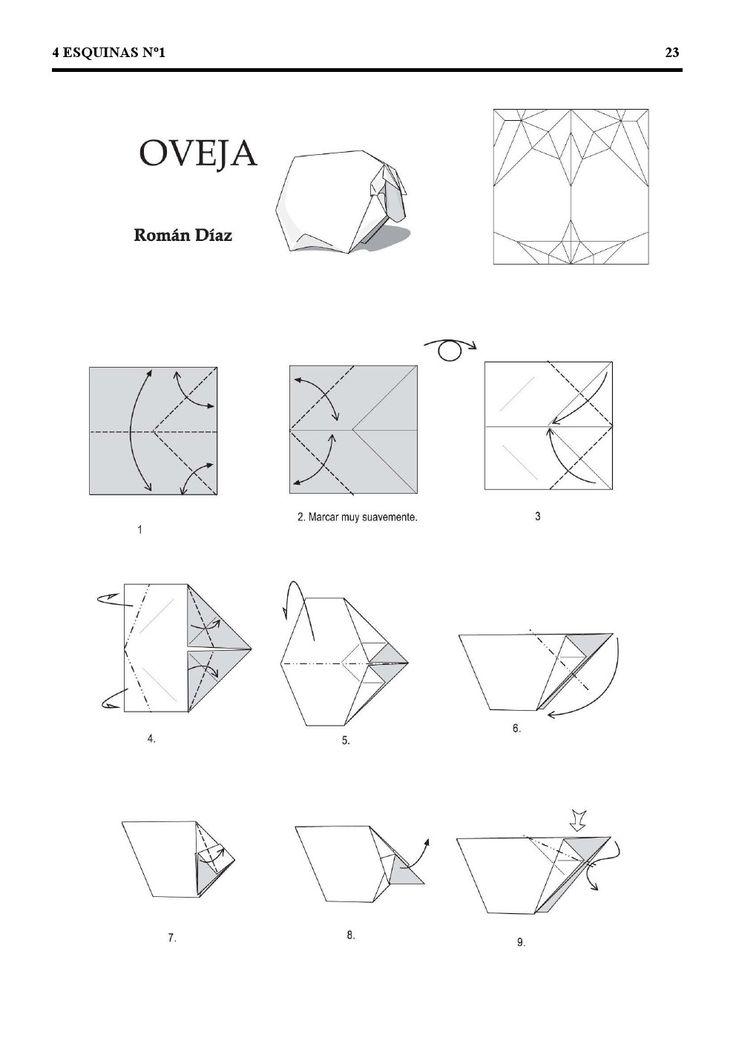 o que  u00c9 meu  u00c9 nosso  origami - ovelha  sheep